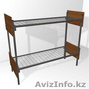 Железные армейские кровати, одноярусные металлические кровати для больниц. оптом - Изображение #2, Объявление #1424153